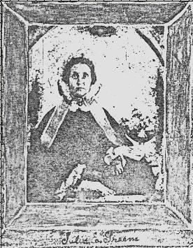 Julia Elizabeth Greene, wife of Alexander Robert Norton.