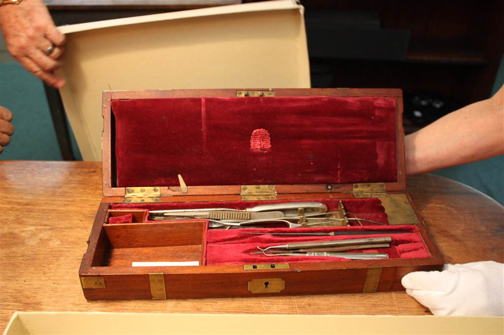 Surgical Tools used by Dr. Robert Goldfrey Norton